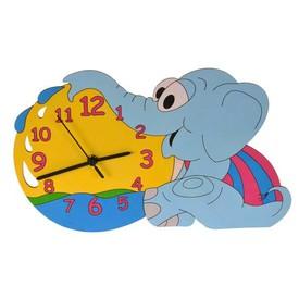 DoDo Dětské dřevěné hodiny slůně poškozený obal