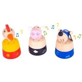 Bigjigs Toys Zvířátka se zvuky 1ks