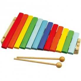 Dřevěné hračky - Dětské hudební nástroje - Dřevěný xylofón