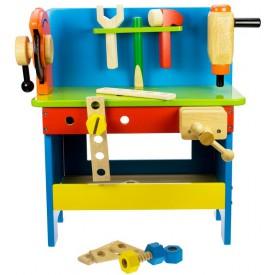 Dřevěné hračky - pracovní ponk Bigjigs