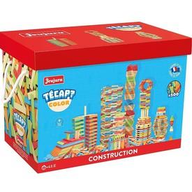 Jeujura Dřevěná stavebnice TECAP 500 dílků