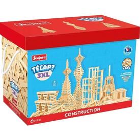 Jeujura Dřevěná stavebnice TECAP 3XL 500 dílků