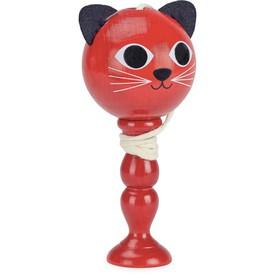 Vilac Balóńek na tyči kočička červená