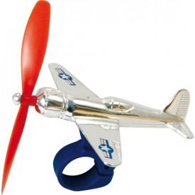 Hračky Vilac - Kovové letadlo s vrtulkou na řídítka kola