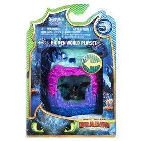 Spin Master Draci 3 svítící Dračí jeskyně s figurkou Bezzubky