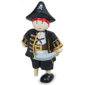 Le Toy Van postavička - Pirátský kapitán