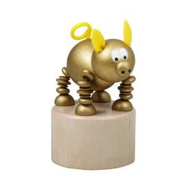 Detoa Mačkací figurka Zlaté prasátko