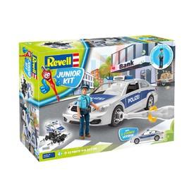 Revell junior KIT Policejní auto s figurkou