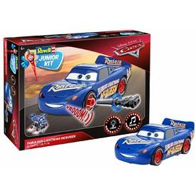 REVELL Junior Kit auto 00863 - Cars 3 - The Fabulous Lightning Mc Queen - světelné a zvukové efekty