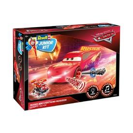 REVELL Junior Kit 00864 1:20 Lightning McQueen Crazy 8 Race – světelné a zvukové efekty