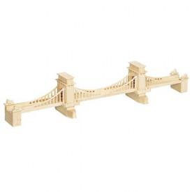 Dřevěné skládačky 3D puzzle Manhattan Bridge most P083