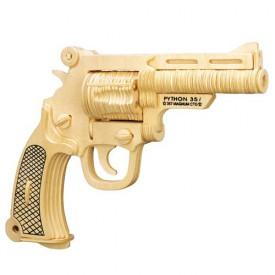 Dřevěné skládačky 3D puzzle - Pistole S W M19 P116