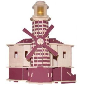 Dřevěné skládačky 3D puzzle slavné budovy - Maják P146