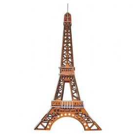 Dřevěné skládačky 3D puzzle - Eiffelova věž PC030