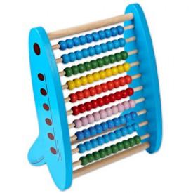 Dřevěné hračky - Školní pomůcky - Dřevěné počítadlo