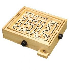 Dřevěné hračky - Dřevěná hra - Naklápěcí labyrint