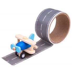 Bigjigs Toys Lepící páska runway