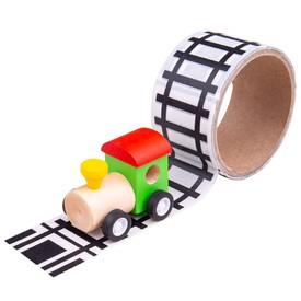 Bigjigs Toys Lepící páska koleje