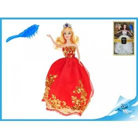 Princezna 29cm s vyšívanými šaty
