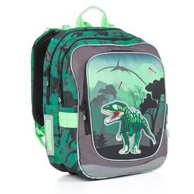 TOPGAL Školní batoh Green CHI 842