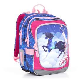 TOPGAL Školní batoh Blue CHI 843