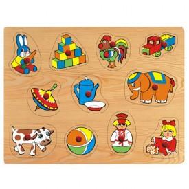 Dřevěné hračky - Vkládací puzzle - Vkládačka - Hračky