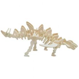 Dřevěné 3D puzzle skládačka - dinosauři Gigantspinosaurus