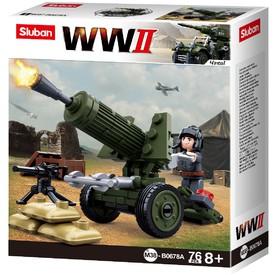Sluban WWII M38-B0678A 4into1 Protitankový kanón
