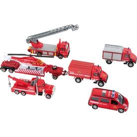 Welly Urban spirit set kovových hasičských aut