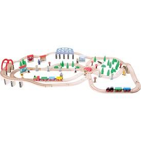 Small Foot Vláčkodráha železniční doprava