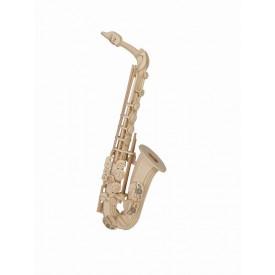 Dřevěné skládačky 3D puzzle - ostatní - Saxofón GPM009