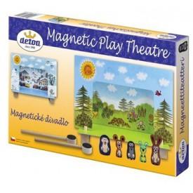 Dřevěné hračky - Magnetické divadlo Krtek