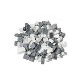 L-W Toys Kreativní set střešní prvky bílá & světle šedá