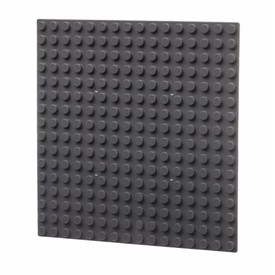L-W Toys Základová deska 16x16 tmavě šedá