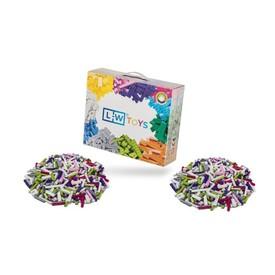 L-W Toys Dívčí set 2000 ks (2x těžký)