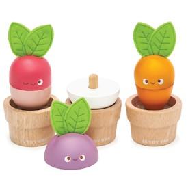 Le Toy Van Petilou Květináčky se zeleninou