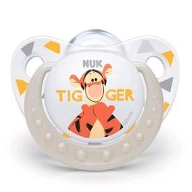 NUK Šidítko Trendine Disney Tigger 6-18m bílé