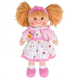 Látková panenka Kelly - 35 cm