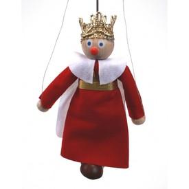 Gerlich Dřevěná loutka Král Ferdinand