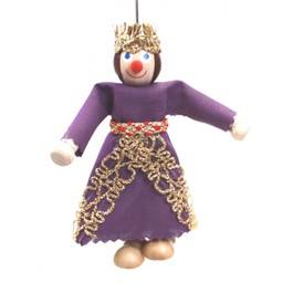 Gerlich Dřevěná loutka Královna Alžběta