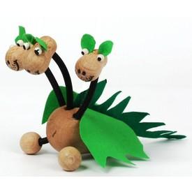 Gerlich Dřevěná loutka Drak tříhlavý