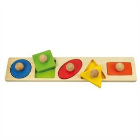 Bigjigs Baby Vkládací puzzle tvary poškozený obal