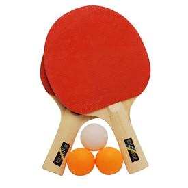 RULYT Set na pingpong 2 x raketa 3 x míč