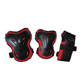 RULYT In-line chrániče TRULY SHELTER SET černo červené vel. S