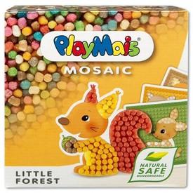 Stavebnice PlayMais MOSAIC Little Forest 2300 dílků