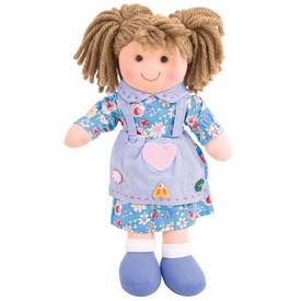 Bigjigs Toys Látková panenka Grace 28 cm