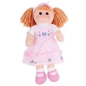 Bigjigs Toys Látková panenka Alice 38 cm