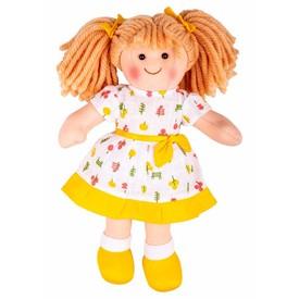 Bigjigs Toys Látková panenka Zoe 28cm