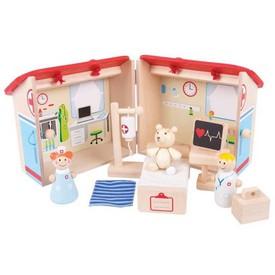 Bigjigs Toys Medvědí nemocnice