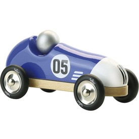 Vilac Závodní auto Vintage modré